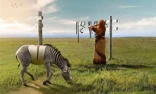 As Criações de Anil Saxena com Photoshop