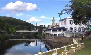Um dos mais belos passeios de trem fica aqui no Brasil!