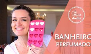 Ótima dica: Como deixar seu banheiro sempre perfumado!