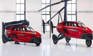 O Primeiro Carro Voador Comercial do Mundo Está Chegando