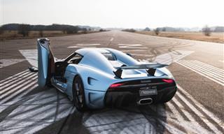 O Impressionante Koenigsegg Regera