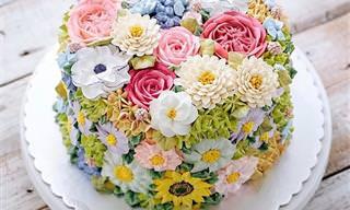 Flores na Confeitaria: Veja Esses Lindos Bolos Primaveris!