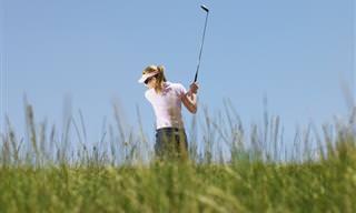 Piada do Dia: Um Pequeno Acidente no Golfe