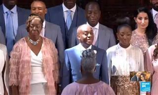 Esse foi o melhor momento do casamento real!