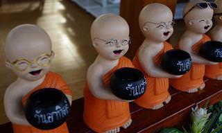 Piada do Dia: As Palavras do Monge