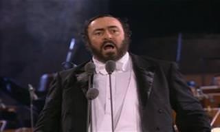 O útlimo concerto de Luciano Pavarotti emocionou o mundo...