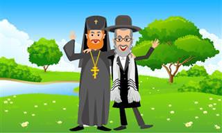 Essa É Muito Boa: O Padre E O Rabino Comprando Um Carro