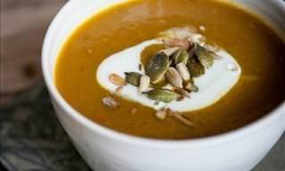 Receita Deliciosa: Sopa de Abóbora ao Curry