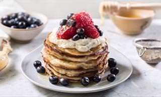 A Melhor Receita Para o Café da Manhã: Panquecas de Banana!