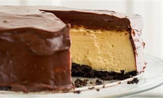 Receita Diferente e Saborosa: Cheesecake Com Bailey's!