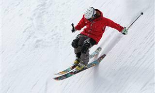 Esse vídeo vai te transportar para o mundo dos esquiadores!