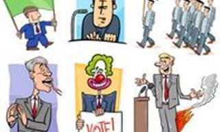 Seis Piadas de Políticos