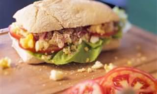 Receita Fácil Para o Carnaval: Sanduíche de Atum