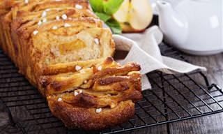 Receita Deliciosa de Pão de Canela