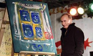 Pinturas Feitas Por Líderes Mundiais