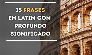 Frases em Latin que nos fazem pensar