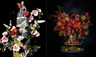 10 lindos bolos artísticos inspirados na arte clássica