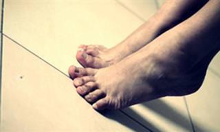 10 Doenças e Problemas de Saúde Identificados Pelos Pés