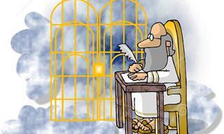 Piada do Dia: A Triagem no Céu (adultos|)