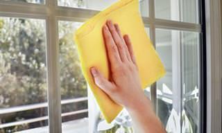 Duas Formas Eficazes de Limpar Vidro