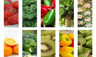 10 Alimentos Ricos em Vitamina C