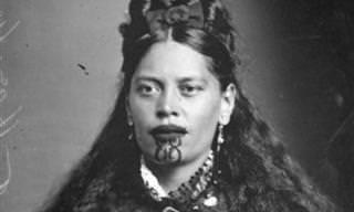 As mulheres Māori e suas tatuagens sagradas