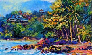 Impressionante! Essas Pinturas São Inspiradas Na Selva