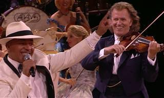 Vamos dançar juntos com André Rieu e Mambo No. 5!