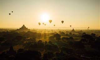 Apaixone-se Pelos Perfumes e Vistas de Mianmar