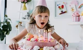 Assista Estas Crianças Soprar Velas de Aniversário