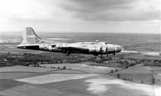 Veja o Retorno do Histórico Avião de Guerra Memphis Belle