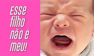 Piada Hilária: O Pai se Assusta com o Nascimento do Filho...
