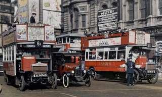 As Cores da Inglaterra em 1920