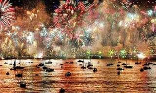 25 Lugares Para Receber o Ano Novo