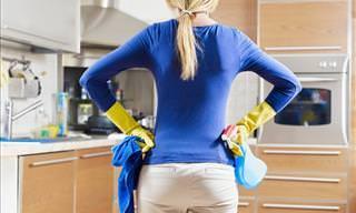 13 Dicas Úteis Para a Limpeza da Casa