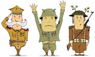 Piada Hilária: Três Soldados São Interrogados