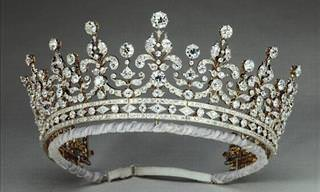 As Coroas e Tiaras Reais Mais Deslumbrantes do Mundo