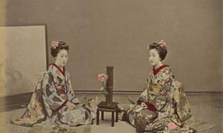 Fotos Coloridas do Japão do Século XIX