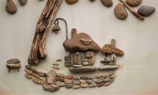 O Lindo Trabalho Com Pedras de Timea Papp