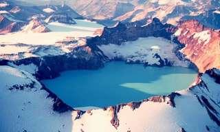 Magníficas Caldeiras Vulcânicas Mundo Afora...