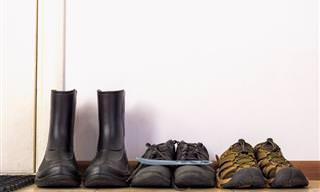 As 7 Razões Para Deixar Seus Sapatos na Porta ao Entrar em Casa