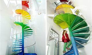 Escadas que são obras de arte e mudam qualquer ambiente