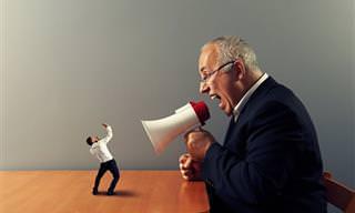 Piada: Um CEO muito zangado