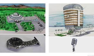 Arquiteto imagina objetos comuns como prédios únicos