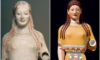 16 Exemplos de Clássicas Esculturas Em Cores