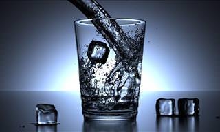 Água Gelada Pode Ter Efeitos Negativos Sobre o Corpo