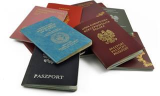O significado das cores das capas dos passaportes