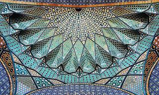 Surpreenda-se Com os Belos Detalhes das Mesquitas do Irã!