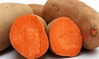 Batata-Doce: Um Alimento Maravilhoso Para a Saúde