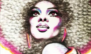 As Incríveis Pinturas Feitas Com Batom de Lipstick Lex